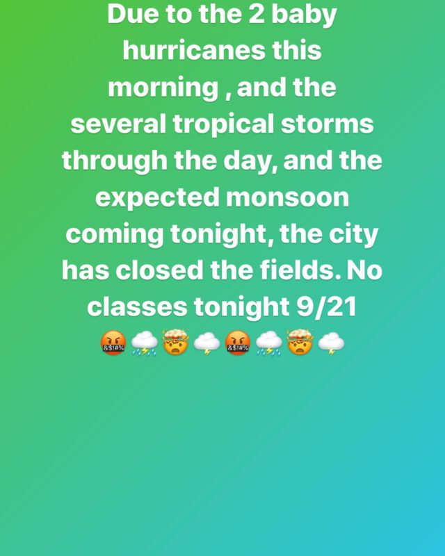 BEAST NATION,  Mother Nature always shows who's in charge!!!!! See you tomorrow!!!!