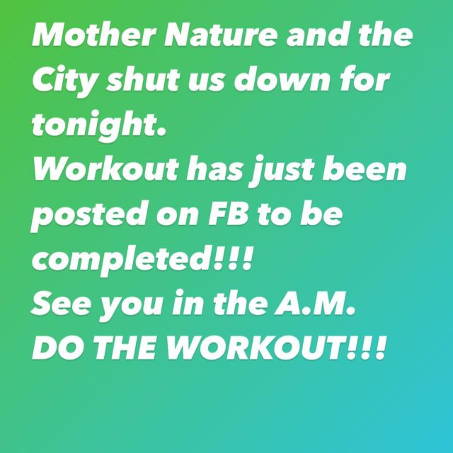 BEAST NATION, You already know the situation….do the FB workout and show proof and tag us!!!!